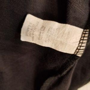 Cubism Tops - Cubism Black Ruffled Full Zip Hoodie